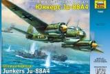 ZVEZDA 1/72 Junkers Ju88A4