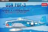 ACADEMY 1/48 Grumman F6F3 USS Princeton