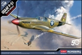 ACADEMY 1/48 North-American P51