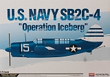 ACADEMY 1/72 Curtiss SB2C4 Operation Iceberg