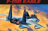 ACADEMY 1/72 McDonnell F15D Eagle