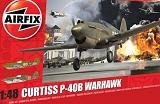 AIRFIX 1/48 Curtiss P40B Warhawk