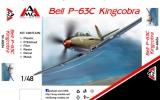AMG 1/48 Bell P63C URSS