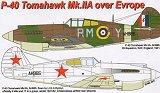 AML 1/72 Curtiss P40B Europe