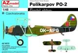 AZ-MODELS 1/48 Polikarpov Po2