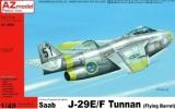 AZ-MODELS 1/48 Saab J29E-F Tunnan