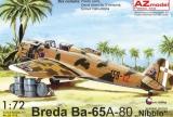 AZ-MODELS 1/72 Breda Ba65 Nibbio