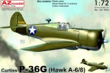 AZ-MODELS 1/72 Curtiss P36G (H75A6/A8)