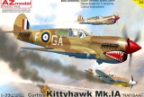 AZ-MODELS 1/72 Curtiss Kittyhawk MkIA SAAF