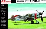 AZ-MODELS 1/72 Messerschmitt Bf109K6