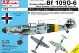 AZ-MODELS 1/72 Messerschmitt Bf109G6 Slovaquie