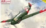 AZ-MODELS 1/72 Messerschmitt Bf109E3 Suisse