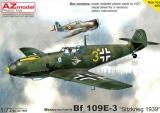 AZ-MODELS 1/72 Messerschmitt Bf109E3 Sitzkrieg