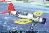 AZ-MODELS 1/72 Vought OS2U Kingfisher sur roues