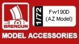 BRENGUN 1/72 Focke-Wulf Fw190D