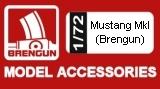 BRENGUN 1/72 North-American Mustang MkIA