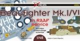 DK Decals 1/48 Bristol Beaufighter MkVI RAAF