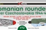 DK Decals 1/72 Romanian Roundels over Czechoslovakia