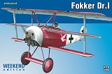 EDUARD 1/72 Fokker DR1 Week-end Jasta 18