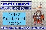 EDUARD 1/72 Short Sunderland interieur