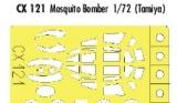 EDUARD 1/72 masques De Havilland Mosquito MkIV