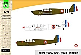 FLY 1/72 Nord 1000/1002 Pingouin