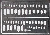 Gabarits gravure EDUARD ovales