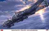 HASEGAWA 1/72 Heinkel He111Z avec Hagelkorn