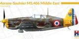 HOBBY 2000 1/72 Morane-Saulnier MS406 Middle East