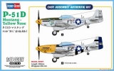 HOBBY BOSS 1/48 North-American P51D Yellow Nose