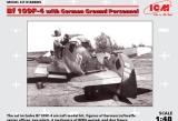 ICM 1/48 Messerschmitt Bf109F4 avec figurines