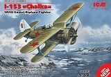 ICM 1/48 Polikarpov I-153 Tchaïka