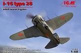 ICM 1/48 Polikarpov I-16 type 28