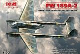 ICM 1/72 Focke-Wulf Fw189A2