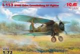 ICM 1/72 Polikarpov I-153 Chine
