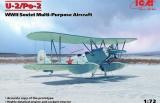 ICM 1/72 Polikarpov U2/Po2 multi-pupose