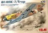 ICM 1/72 Messerschmitt Bf109E7/trop