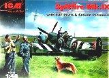 ICM 1/48 Supermarine Spitfire MkIX avec figurines