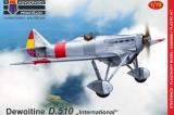 KOPRO 1/72 Dewoitine D510 Guerre d'Espagne