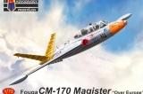 KOPRO 1/72 Fouga CM170 Magister Europe