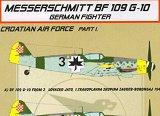KORA 1/72 Messerschmitt Bf109G10 croate pt1