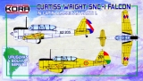 KORA 1/72 Curtiss-Wright SNC1 Uruguay Bolivie