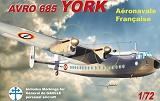 MACH 2 1/72 Avro York Gal De Gaulle