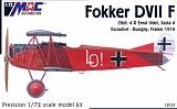 MAC 1/72 Fokker D-VIIF Udet