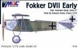 MAC 1/72 Fokker D-VII début de série