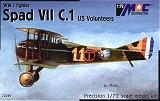 """MAC 1/72 SPAD VII """"US volunteers"""""""