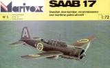 MARIVOX 1/72 Saab 17