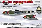 PRINTSCALE 1/72 Lockheed P38J/H