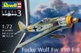 REVELL 1/72 Focke-Wulf Fw190F8