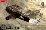 RODEN 1/48 Fokker D-VII Alb. début de série